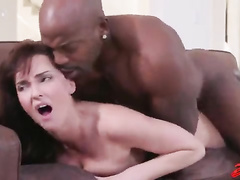 White wife interracial BBC hardcore