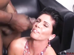 Beautiful black-haired momma ir big black dick compilation