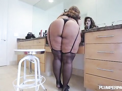 Beautiful plump latina bombshell wife Sofia Rose BBC hardcore
