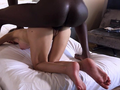 Wife's first time with big black cock